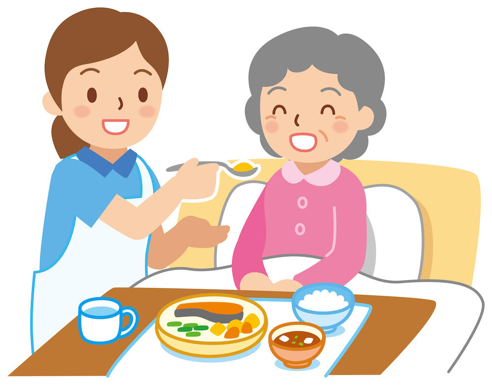 美味しく正しい食事介助の方法と注意点