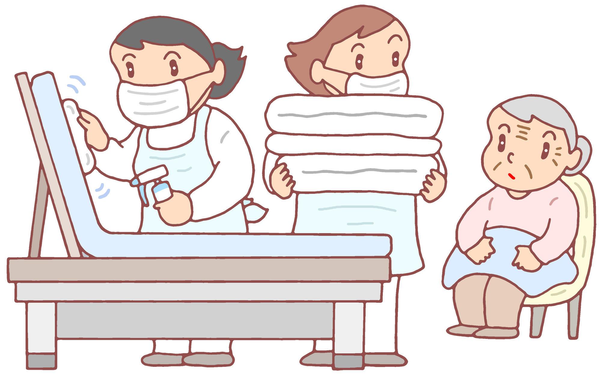 老人ホームにおける集団感染対策について|老人ホームのコラム