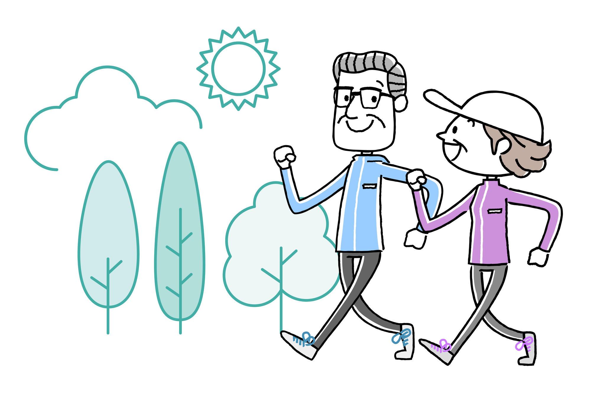 インターバル速歩の健康効果と実践方法|介護のコラム